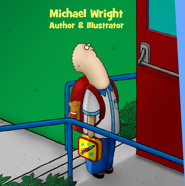 Michael Wright - Author and Illustrator. Jake Starts School and Jake Stays Awake. Coming soon -- Jake Goes Peanuts!